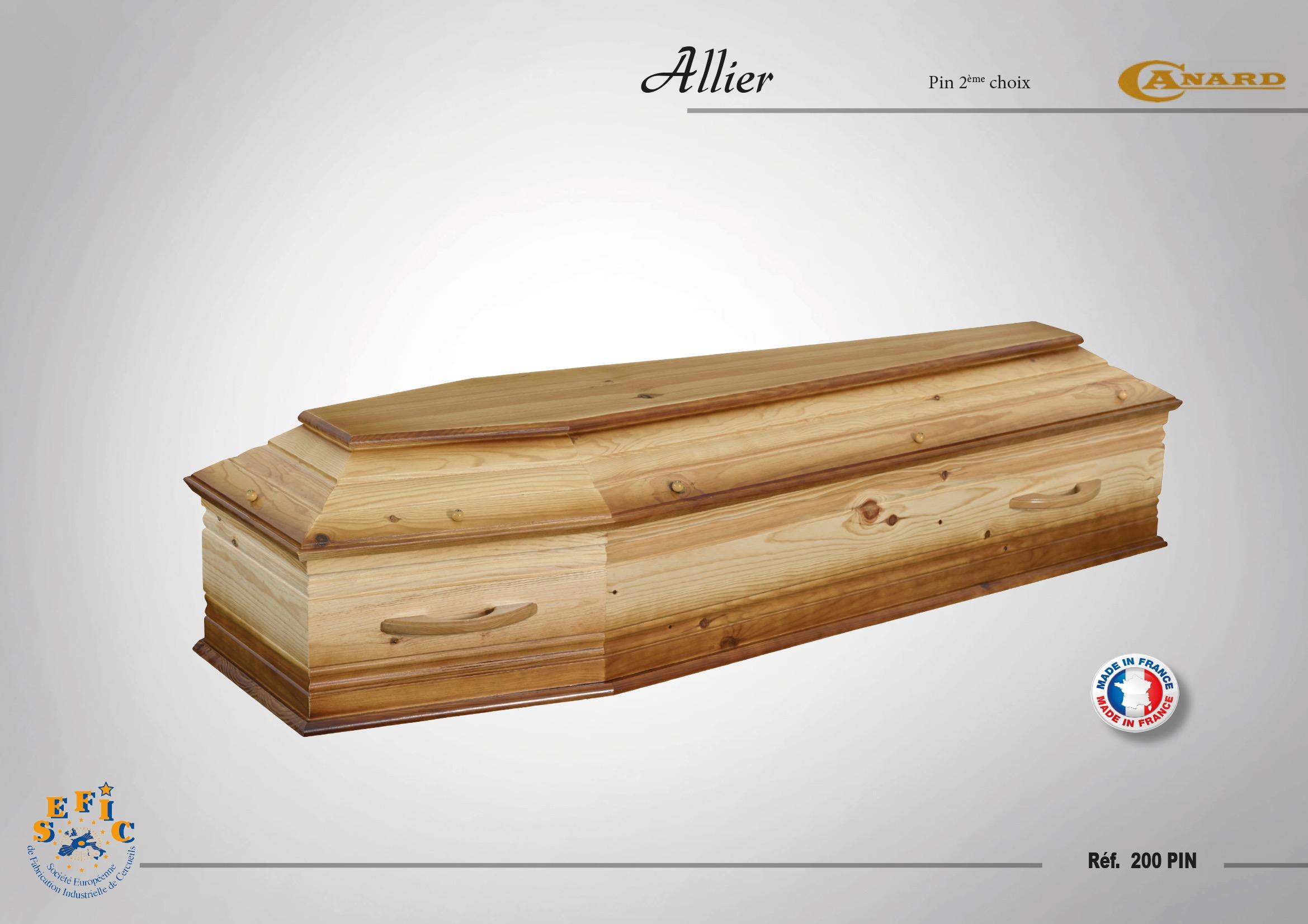 Cercueil Crémation / Inhumation Allier