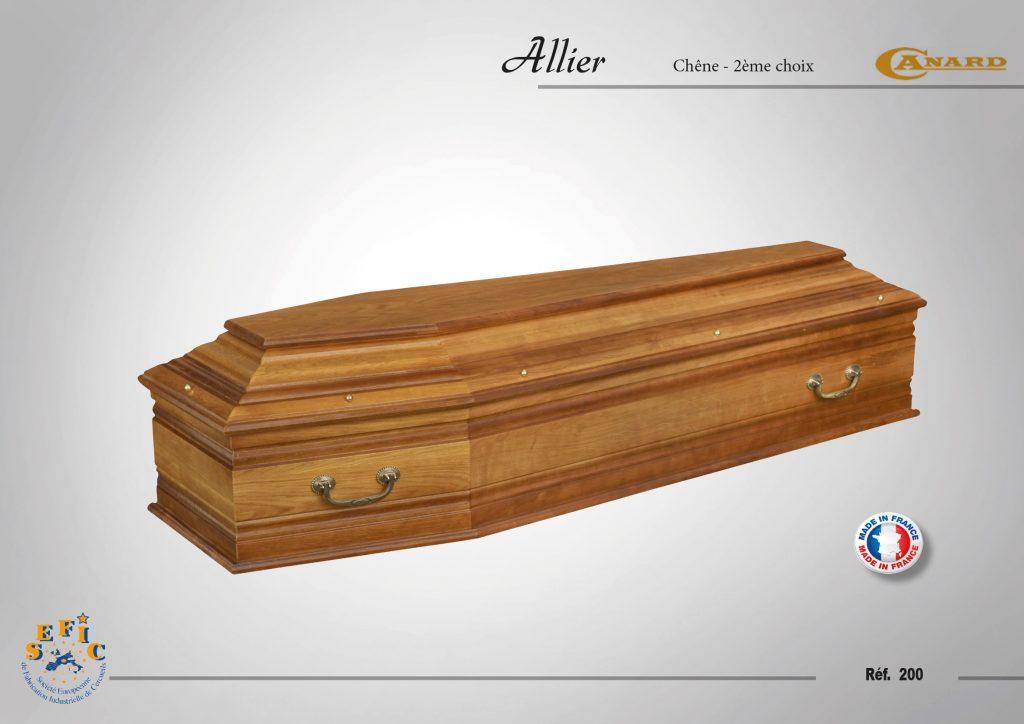 Cercueil Inhumation Allier