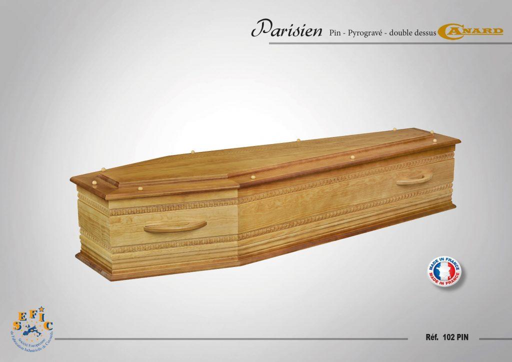 Cercueil Crémation / Inhumation Plessis
