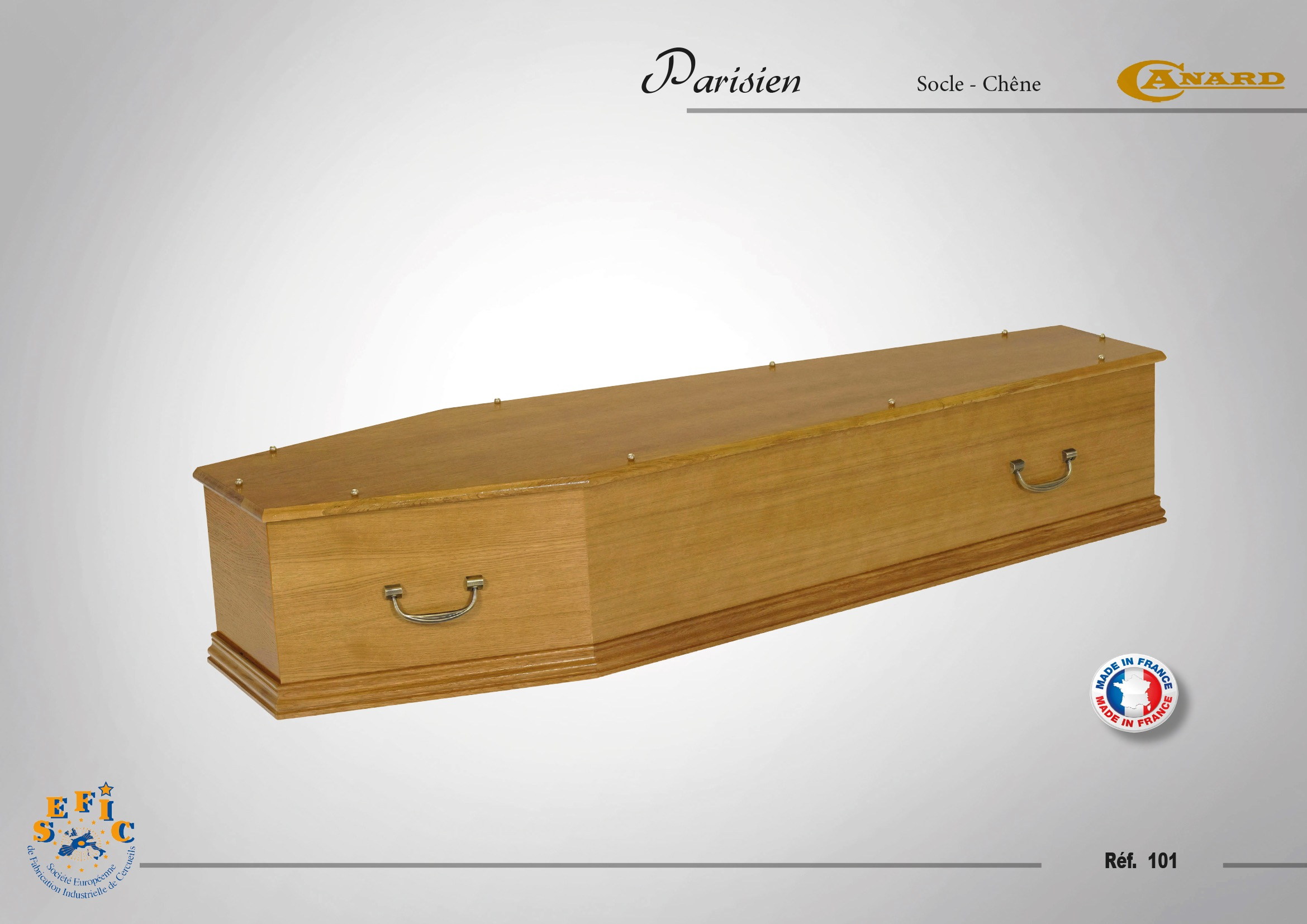 Cercueil Inhumation Parisien
