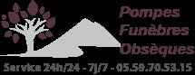 Logo pompes funèbres de maignon