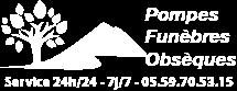 logo pompes funebres maignon